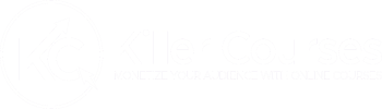 Killer courses Logo white 350x100